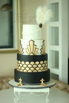 Gatsby- Wedding Cake