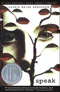 Speak by Laurie Halse Anderson. A Printz Honor book, National Book Award Finalist, and one that's made the top 100 on the ALA Banned Books list in the past 10 years. Ya Books, I Love Books, Book Club Books, Book Lists, The Book, Good Books, Books To Read, Amazing Books, Reading Lists