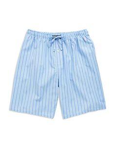 Polo Ralph Lauren Striped Sleep Shorts Men's Bari Stripe Assorted Larg