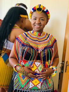 Zulu Traditional Wedding Dresses, Zulu Traditional Attire, South African Traditional Dresses, Traditional Dresses Designs, African Traditional Wedding, Traditional Outfits, African Evening Dresses, African Wear Dresses, African Wedding Dress