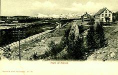 Nordland fylke Narvik oversikt tidlig 1900-tallet Utg Abels forlag
