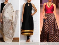 10 Different Ways To Use Your Mom's Old Silk Saree