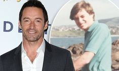 Hugh Jackman shared a Throwback Thursday photo on Instagram showing him looking far different at the age of twelve, dressed in a pair of high-waisted jeans.