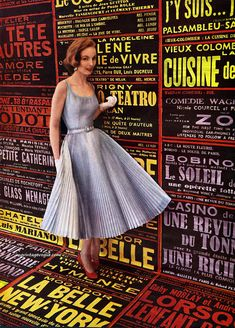 https://flic.kr/p/Q7ZHy3 | Harper's Bazaar November 1953, photo by Tom Palumbo - dress by David Klein