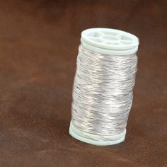 Dead Soft sterling silver wire great white silver shade, wonderful for wire crocheting jewelry in the ISK technique. Diy Jewelry Findings, Jewelry Tools, Jewelry Making Supplies, Jewelry Crafts, Jewelry Ideas, Soldering Jewelry, Art Supplies, Handmade Jewelry, Silver For Jewelry Making