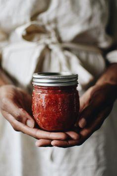 Honey Recipes, Jam Recipes, Cooking Recipes, Cooking Ideas, Delicious Recipes, Strawberry Compote, Strawberry Jam Recipe, Ball Canning Recipe, Jam On
