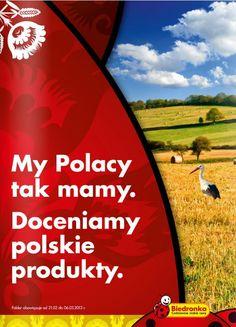 Biedronkowa Polskość :) Prawie jak Kalendarz Rolnika ;)    Bardzo polecamy promocje w Biedronce na http://www.promocyjni.pl/siec/88-biedronka