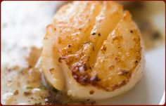 Alder Smoked Scallops with Citrus and Garlic Butter Sauce by traegergrills:Scallops are naturally sweet and pair beautifully with a hint of alder or apple smoke and an orange-inflected dipping sauce. Be sure to buy dry-packed scallops at the market. Thanks to @Rebecca Silbermann ! #Scallops #Smoked