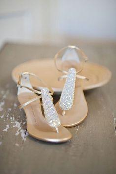50 Beach Wedding Sandals And Foot Jewelry Ideas | HappyWedd.com