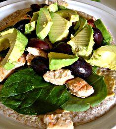 Healthy Chicken-Avocado Wrap
