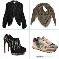 FRIDAY´S NEW ARRIVALS! #HauteHippie #AlexanderMcQueen #Alaia #Valentino #Rockstud #Vintage #Secondhand #Fashion #Onlineshop #MyMint