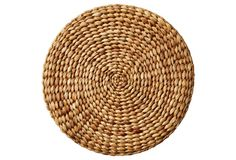 Durable, textural, and full of natural appeal, these round place mats are woven entirely of water hyacinth. Water Hyacinth, Welcome To Our Wedding, Al Fresco Dining, Nature Decor, Place Mats, Texture, Places, Etsy, Natural