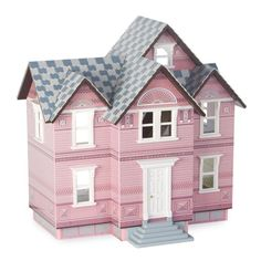Melissa and Doug Victorian Dollhouse Kit - 1 in. Scale