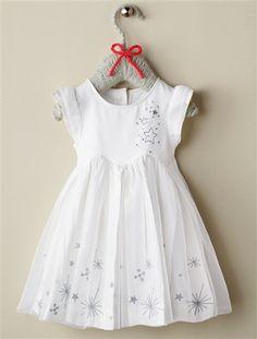 Vestido de cerimónia, para bebé menina