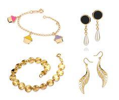 Charmed, Drop Earrings, Jewels, Bracelets, Style, Fashion, Swag, Moda, Bijoux
