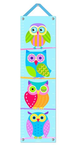 Owls Canvas Growth Chart