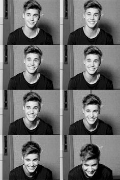 #ThatBieberSmile (it was hard for me to choose just 1, lol) @Marissa Hereso Hereso C