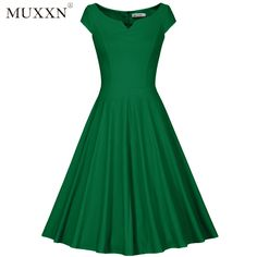 New Ladies Plain Sleeveless Cut Out Choker V Neck Mini flared Swing Dress 8-22