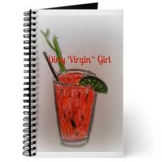 Dirty Virgin Bloody Mary Girl Journal $14.49