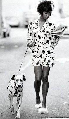 preto e branco - dalmata e moda