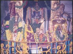 Mattapalli in the Huzurnagar taluq, Nalgonda District of Andhra Pradesh, which is home to another famous temple of Lord Narasimhadeva. Here, Sri Lakshmi Narasimha Swami (also known as Sri Yogananda Lakshmi Narasimha Swamy) resides in His maha kshetram cave dwelling beside the Krishna River. The other presiding Deities of Mattapalli dhama are Sri Raajyalakshmi Thaayar and Sri Chenchu Lakshmi Thaayar, who are present alongside Lord Narasimha.  http://www.astrologytraining.com/places.html