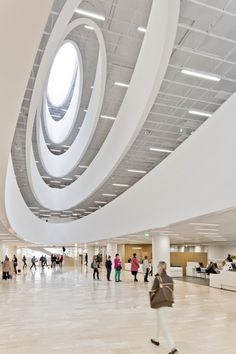 Helsinki University Main Library by Anttinen Oiva Architects / Kaisaniemenkatu, Helsinki, Finland