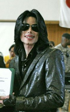 Michael Jackson in Japan 2007.