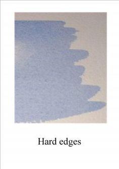 A simple guide on getting edges in your watercolor paintings under control and some tips to help with painting clouds and trees.