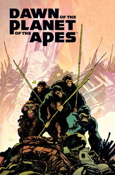 Dawn of the Planet of the Apes Goes Monthly From BOOM! Studios | Comicbook.com