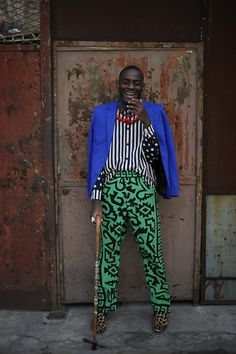 LE SAPE SOCIETY (by Louis Philippe De Gagoue) http://lookbook.nu/look/4232641-LE-SAPE-SOCIETY