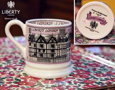The perfect way to drink tea! In our exclusive #emmabridgewater mug Combining the best of both worlds :)