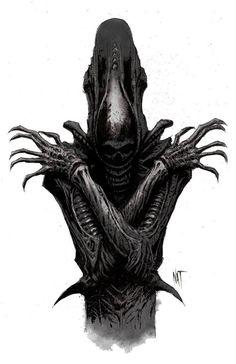 Alien by Nat Jones