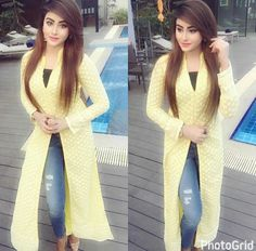 Western Dresses, Indian Dresses, Indian Outfits, Hijab Fashion, Girl Fashion, Fashion Dresses, Kurta Designs, Blouse Designs, Pakistani Wedding Outfits