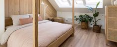 Wonen | RTL Nieuws Apartment Floor Plans, Diy Hacks, Flooring, Bedroom, Attic, Furniture, Home Decor, Lawn And Garden, Loft Room