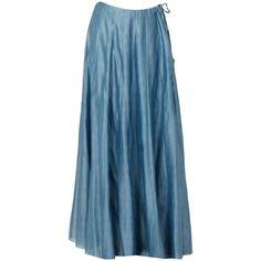 Pastel Grey Embellished Kurta With Lehenga Skirt ($495) ❤ liked on Polyvore featuring skirts, embellished skirts, gray skirt, pastel skirts and grey skirt