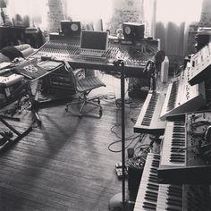 Telefon Tel Aviv Studio 2014 http://instagram.com/p/qe8mrrFDWb/