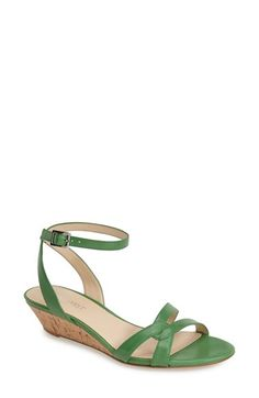 Nine West 'Valaria' Demi Wedge Ankle Strap Sandal (Women) | Nordstrom