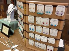Birdy Chat: Craft Show ~ Jewelry Display Tips