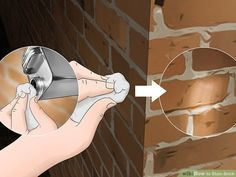 How to Stain Brick. People stain brick for many reasons: to make repairs match the rest of the wall, to complement surrounding decor, or just to create a great color change. Unlike paint, stain will seep into and bond with the brick,. Stained Brick Exterior, Painted Brick Exteriors, Stain Brick, House Exterior Color Schemes, House Paint Exterior, Exterior Colors, Brick Porch, Front Porch, Types Of Bricks