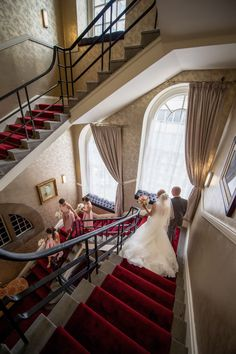 30 James Street Wedding Staircase Photography by Matthew Rycraft