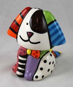 BRITTO Dog Salt & Pepper Shakers - cute and fresh design.