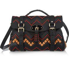 BAG LOVE: Mulberry Zigzag leather satchel bag