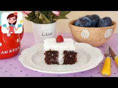 Muhallebi Dolgulu Kakaolu Kek (Videolu Tarif)   Kevserin Mutfağı - Yemek Tarifleri