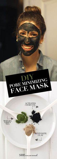 DIY Pore Minimizing Face Mask made from just 3 all-natural ingredients!