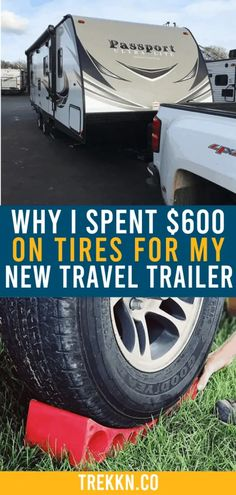 You know you want a quality travel trailer. But if that trailer doesn't have the best travel trailer tires on it to keep you safe on the road, no good. One way to enjoy RV Living to its fullest is to make sure you're always on top of RV safety. Check out our tips for safety when it comes to your tires. #RVliving #RV #RVing #RVlife #traveltrailer #RVcamping #RVlifestyle #safety Travel Trailer Tires, Best Travel Trailers, Travel Trailer Living, Rv Trailers, Rv Travel, Camping With Kids, Go Camping, Camping Kitchen, Camping Cooking