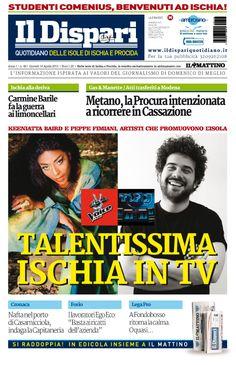 La copertina del 16 aprile 2015 #ischia  #ildispari