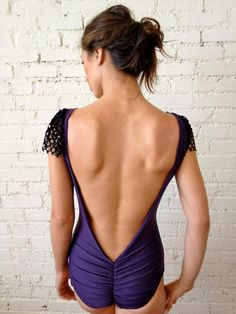 Style: The Bourgeois Color: Purple L.A.   www.cityswimwear.com