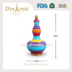 Hand painted porcelain vase Painted Porcelain, Porcelain Vase, Hand Painted