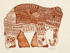 Buy Elephant Dream, aquatint etching, Etching / Engraving by Mariann Johansen-Ellis on Artfinder. Discover thousands of other original paintings, prints, sculptures and photography from independent artists.