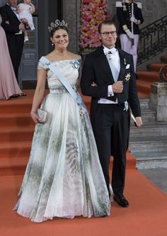 13 June 2015 - Wedding of Prince Carl Philip and Sofia Hellqvist -- Crown Princess Victoria and Prince Daniel
